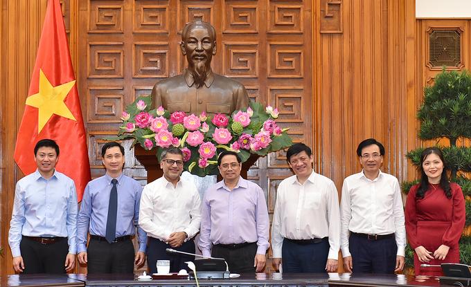 Đề nghị Astra Zeneca chuyển cho Việt Nam 10 triệu liều vaccine