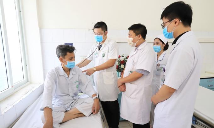 Bệnh nhân ung thư chống đỡ Covid-19